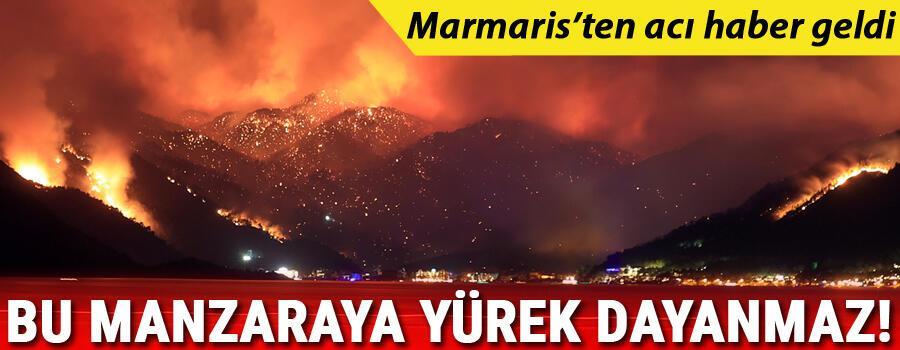 Son dakika: Marmariste de orman yangını Bakan Pakdemirli: 1 vatandaşımızı kaybettik