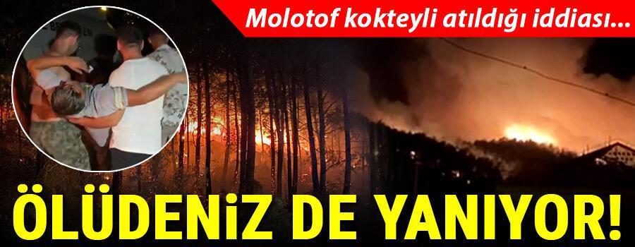 Son dakika haberi Kahreden bir haber daha Muğlanın Fethiye ilçesinde orman yangını başladı