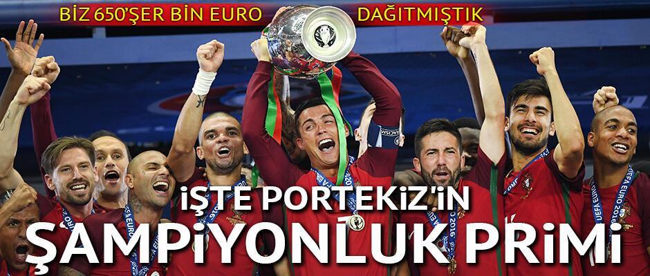İşte Portekizin şampiyonluk primi